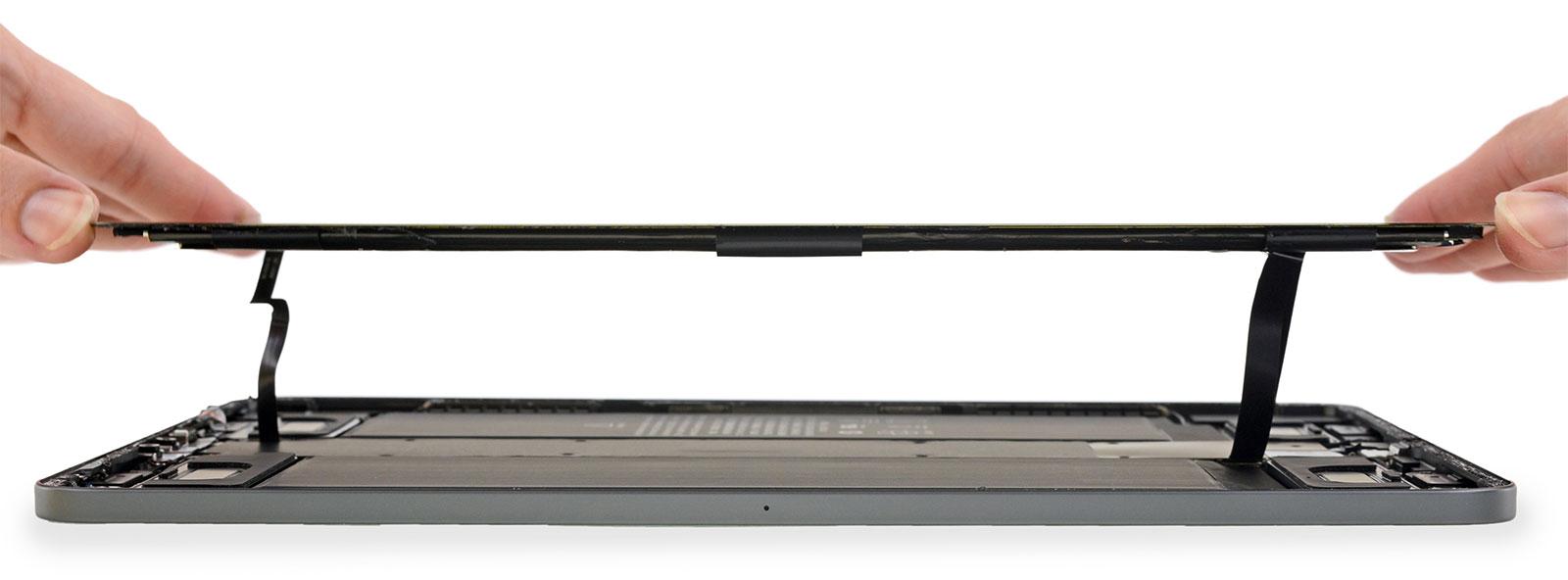 iPad Pro todo pantalla por dentro