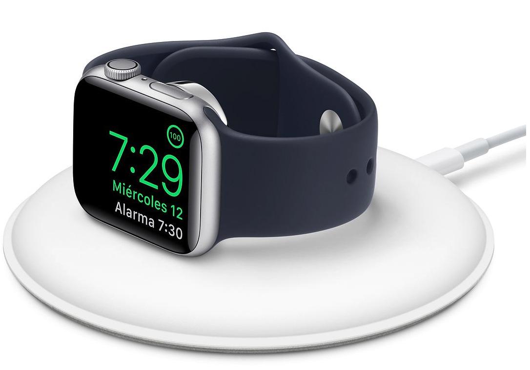 Base Dock de carga magnética inalámbrica para el Apple Watch