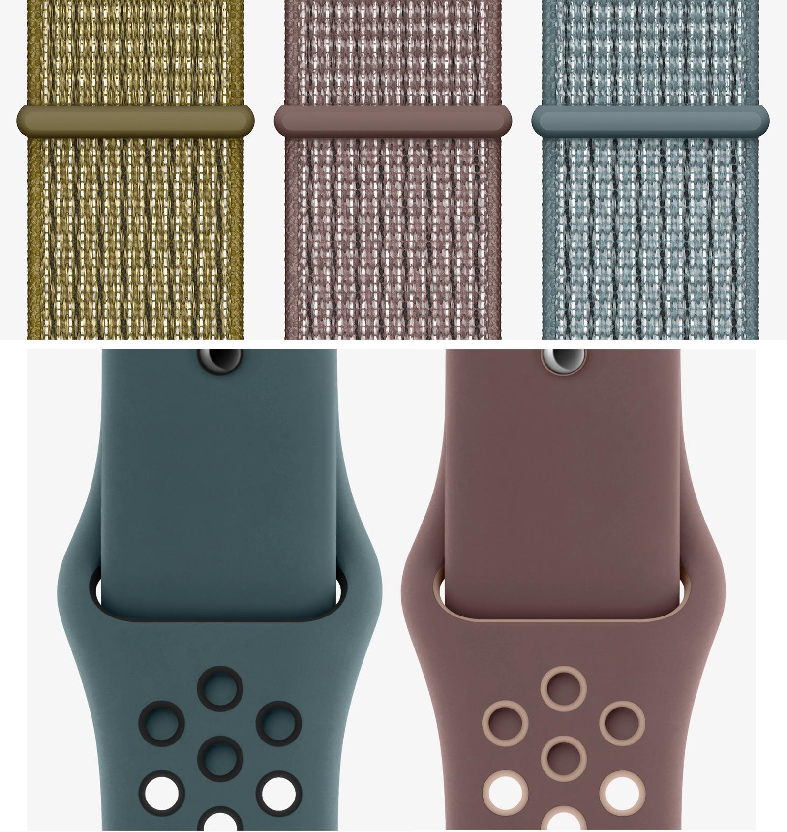 raspador Telemacos Vacante  Nike pone a la venta tres nuevas correas para el Apple Watch en iPhoneros