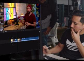 Editando vídeo en un iPad Pro