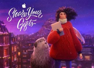 Anuncio de TV de Apple para el 2018: Share your gifts