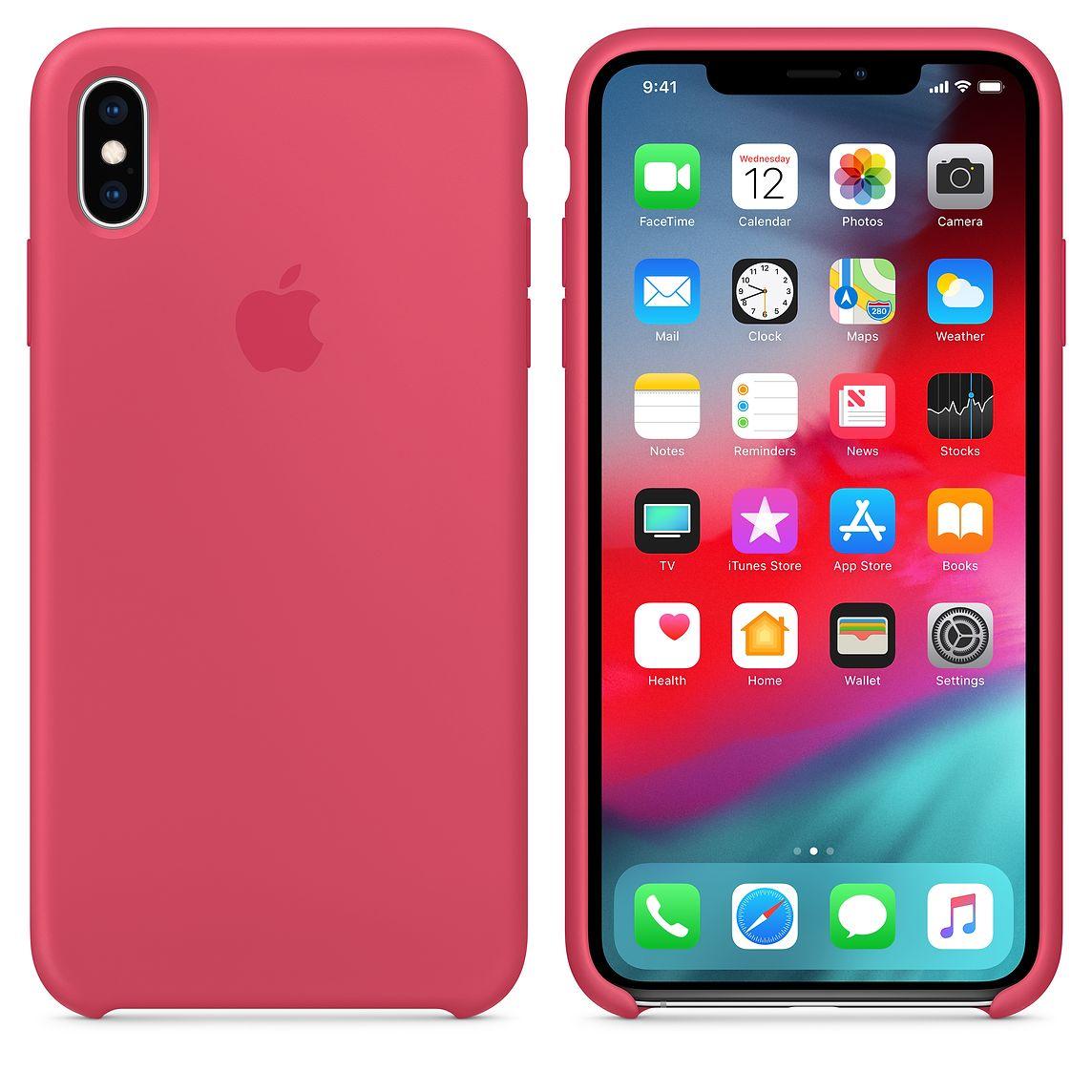 Nuevo color de fundas de silicona para iPhone XS