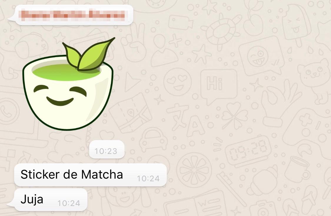 Sticker de WhatsApp
