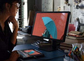 Monitor externo conectado a un iPad Pro