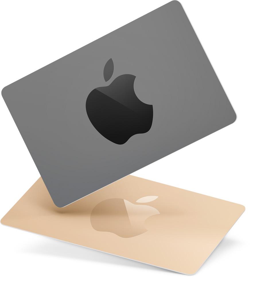 Tarjetas de regalo de Apple