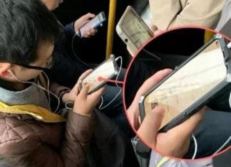 Supuesto prototipo de Huawei visto en China