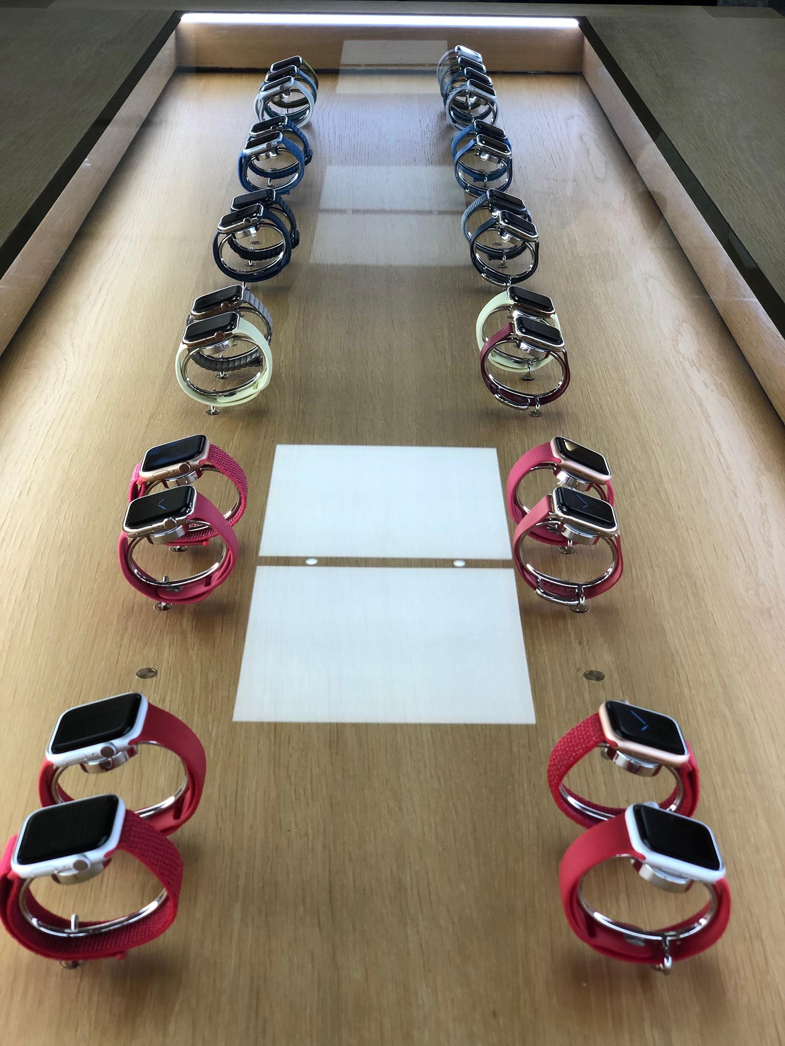 Apple Watch en la Apple Store de la Puerta del Sol de Madrid