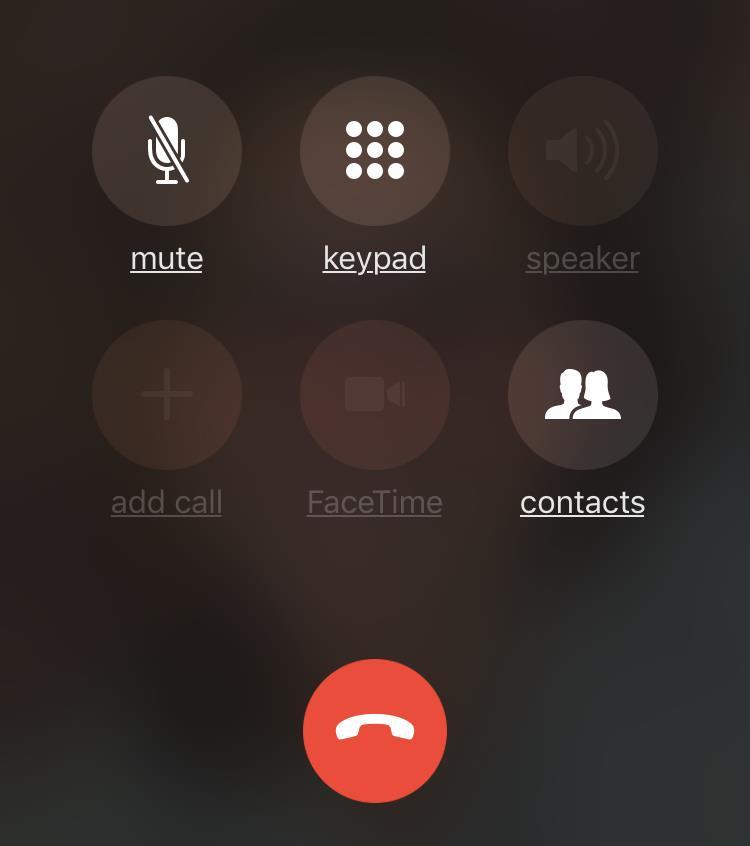cab72a2155f ... auricular del iPhone 7 permanecerá desconectado. Altavoz en gris, no  suena durante las llamadas