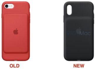 Supuesta nueva funda con batería para el iPhone XS
