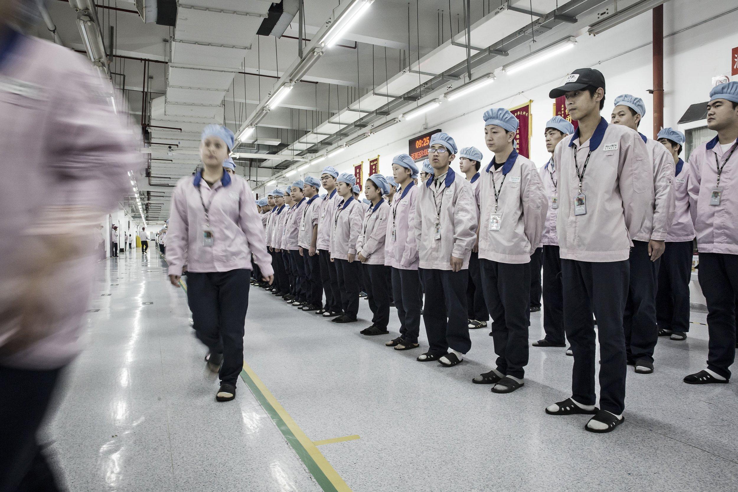 Dentro de una fábrica de Pegatron