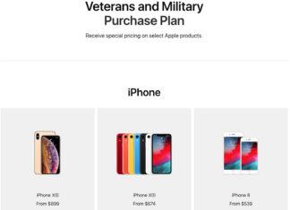 Apple Store para veteranos y militares