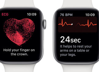 App de electrocardiogramas en el Apple Watch series 4