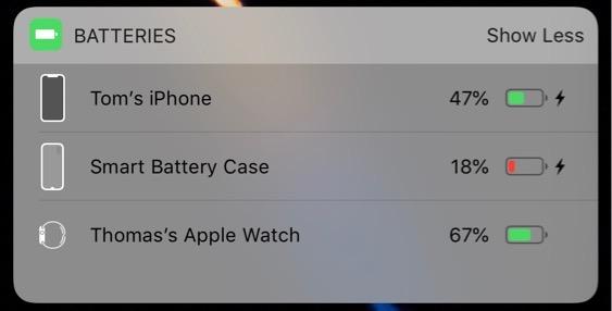 Icono de la Smart Battery Case para iPhone X
