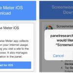 App recolectora de datos privados de Google: Screenwise Meter