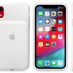 Smart Battery Case blanca para iPhone XR