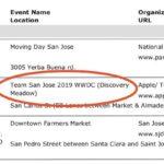 Evidencia de las fechas de la WWDC 2019