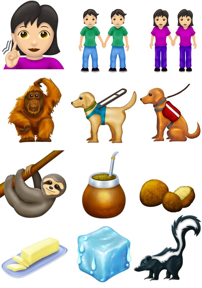Nuevos emojis 12.0 para el 2019