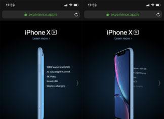 Web de Apple que utiliza el giroscopio del iPhone