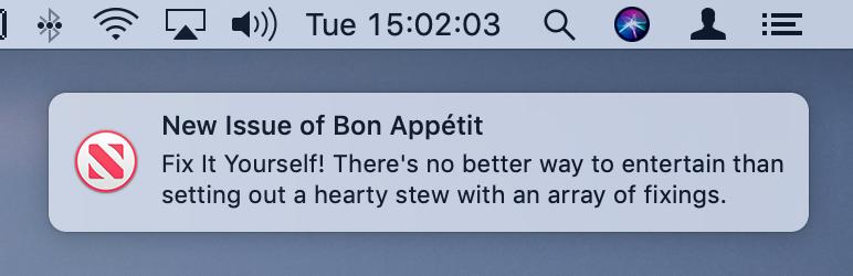 Prueba del nuevo servicio de noticias de Apple News en macOS Mojave