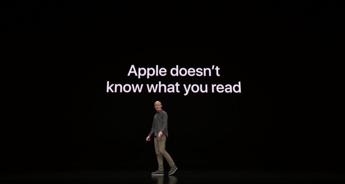 Apple News+ - Apple no sabe lo que lees