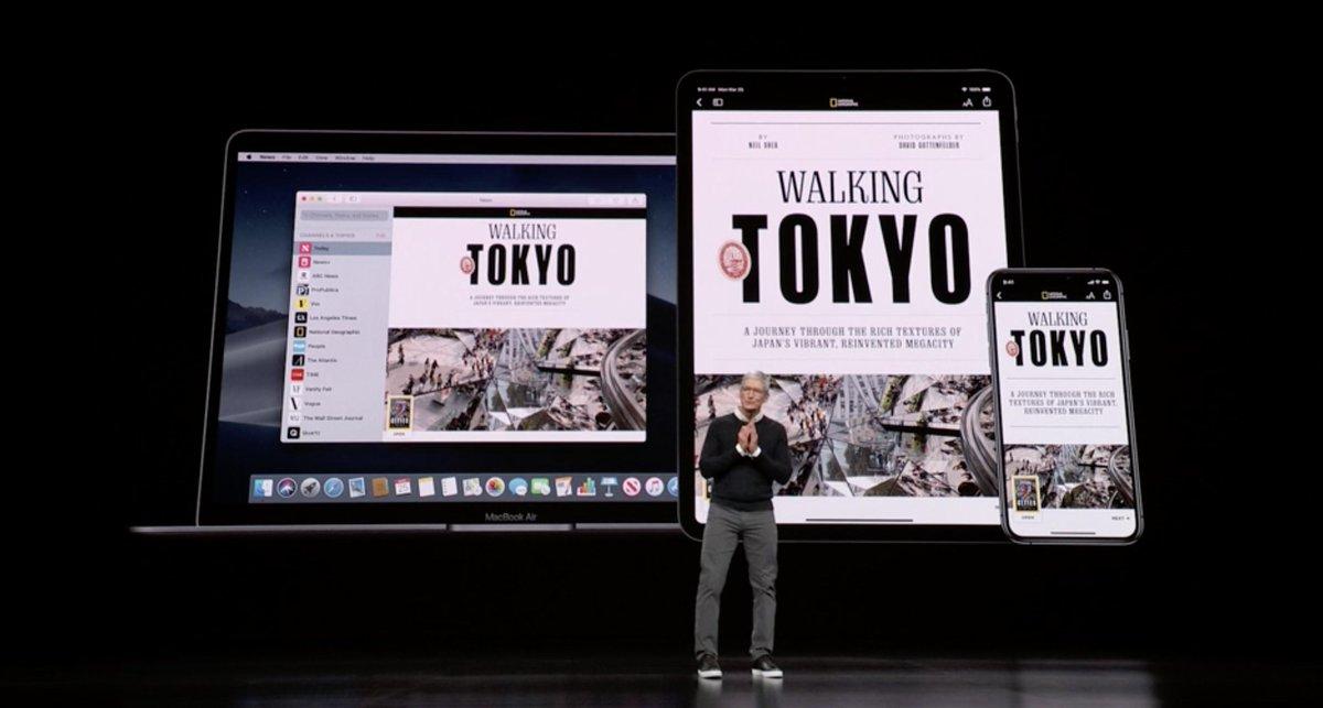 Tim Cook - Apple News - Walking Tokyo