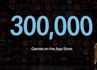 300.000 juegos en la App Store - Presentación Apple Arcade - Keynote It's Show Time de Marzo de 2019