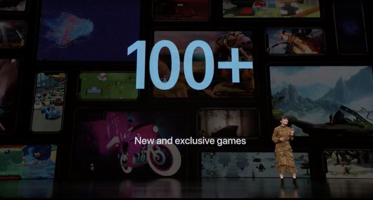 Presentación Apple Arcade - Keynote It's Show Time de Marzo de 2019