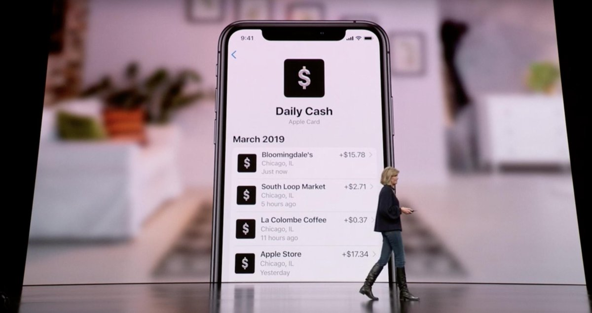 Movimientos Apple Card