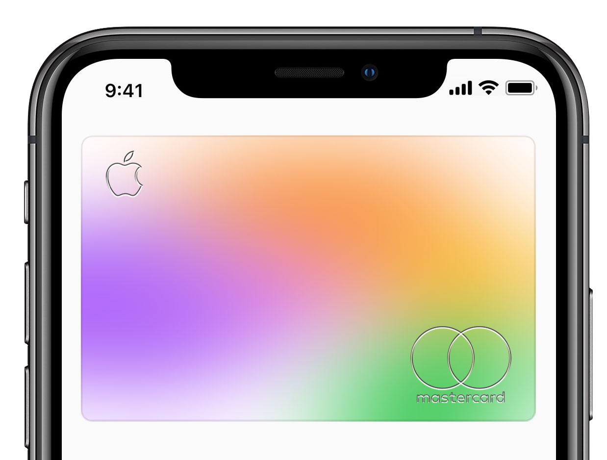 Apple Card en la App de Wallet