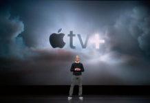 Tim Cook presenta Apple TV+