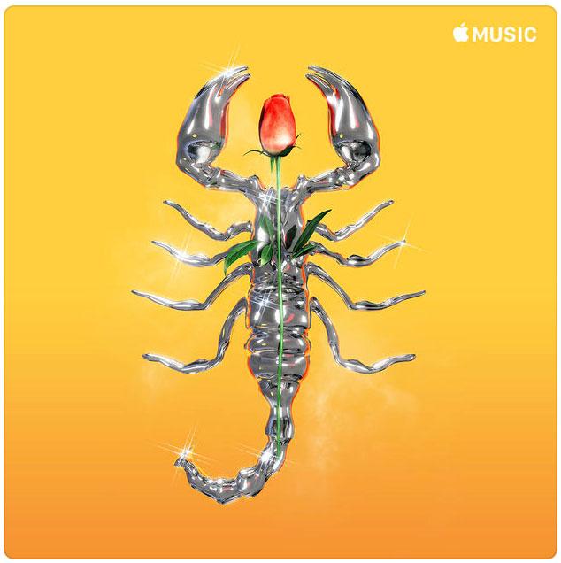 Portada de la lista de canciones de Hip Hop en Apple Music