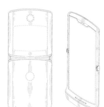 Patente de smartphone con pantalla que se dobla y diseño del Razr de Motorola
