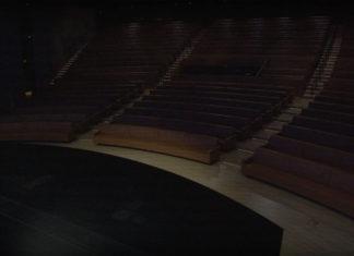 Steve Jobs Theater vacío