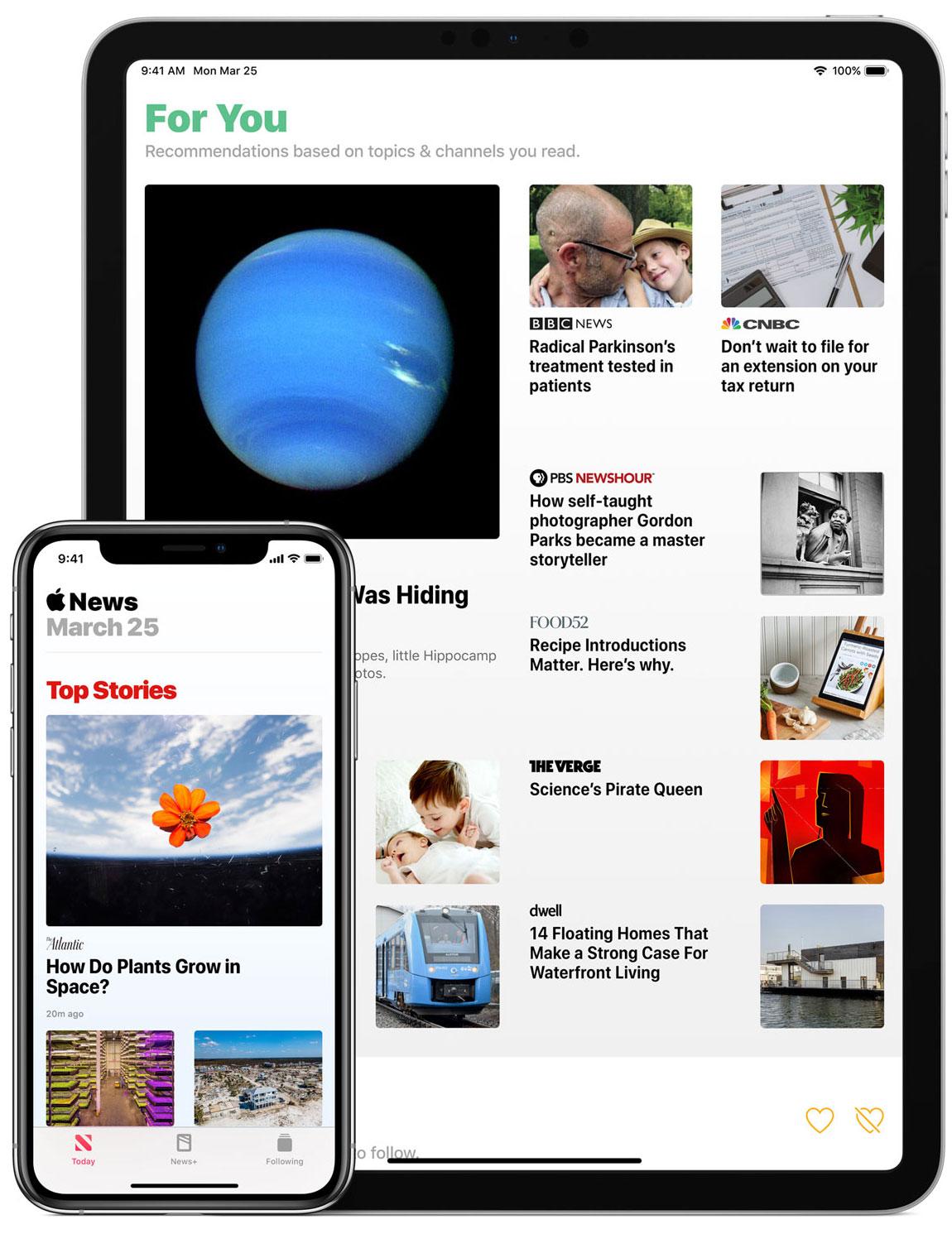 App de Apple News+