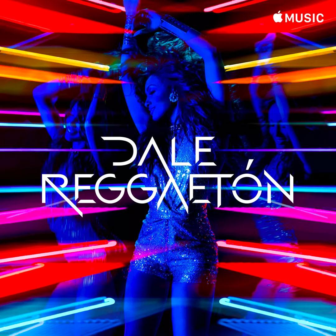 Portada de la lista de canciones de reguetón en Apple Music