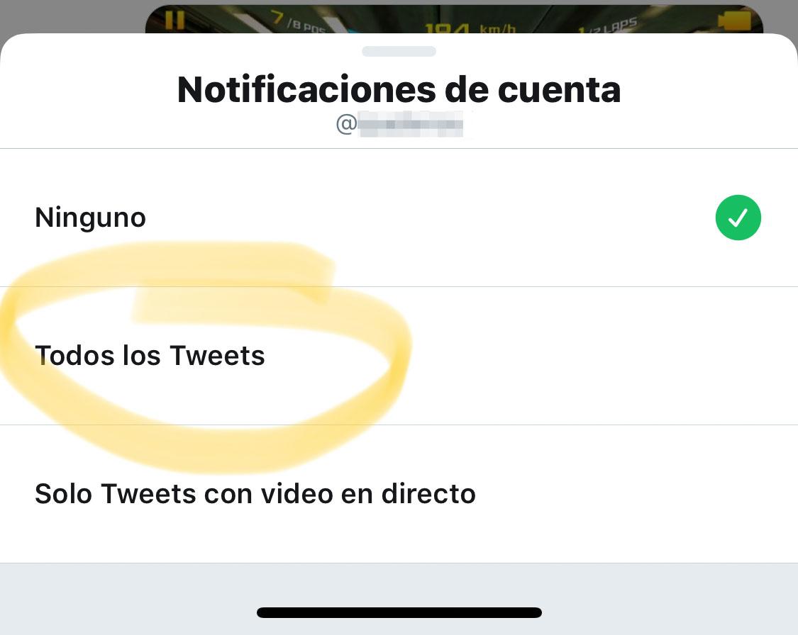 Activando las notificaciones de iPhoneros