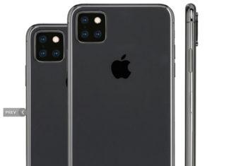 Concepto de diseño de iPhone con tres cámaras traseras