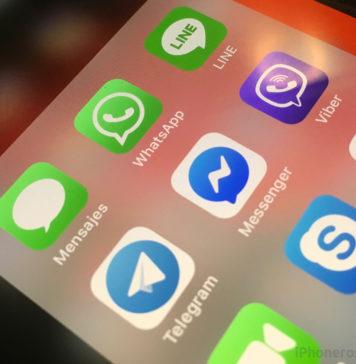 WhatsApp, Telegram, Line, Viver, Skype, FaceTime y App de Mensajes en un iPhone (Apps de mensajería instantánea)