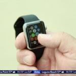 Apple Watch recuperado funcionando luego de Estad sumergido en el mar mientras 6 meses