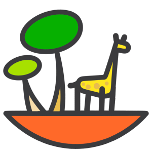 Chapa de la Girafa del Día de la Tierra 2019