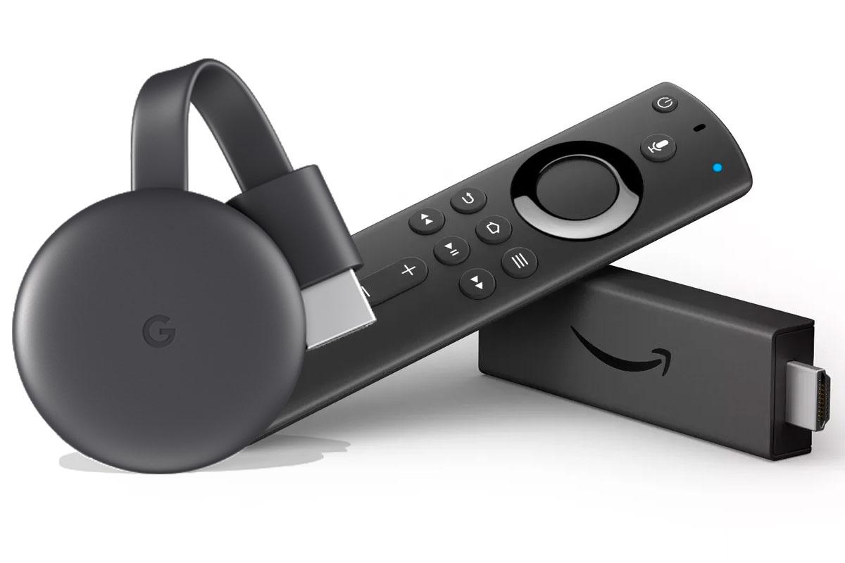 Chromecast y Amazon Fire TV