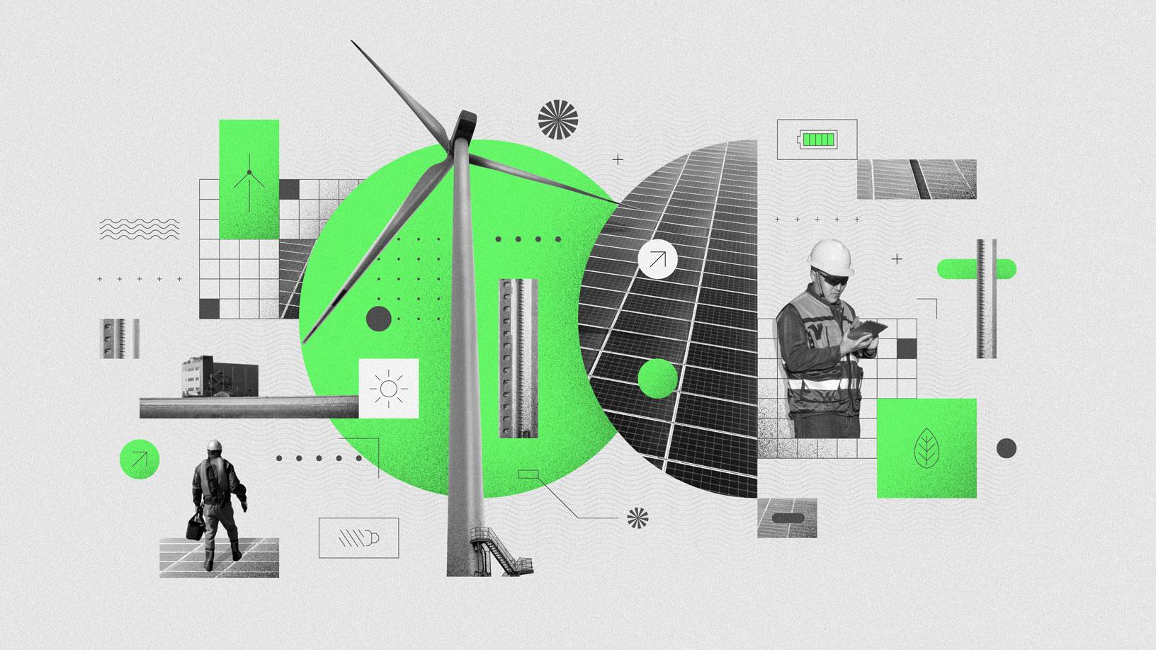 Esfuerzos medioambientales de Apple en el 2019 (ilustración)