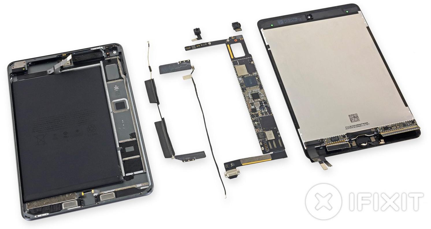 iPad mini 5 por dentro