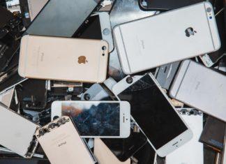 iPhones para reciclar