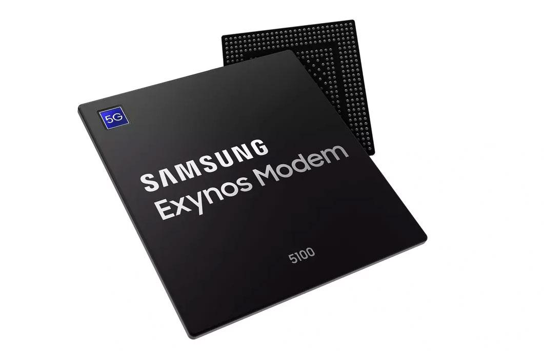 Chip de Módem 5G Exynos de Samsung