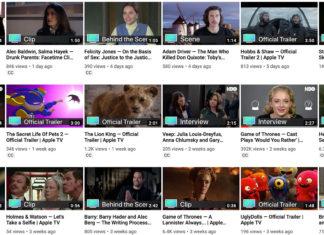 Nuevo canal de trailers y Apple TV+ en YouTube