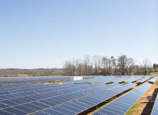 Granja de paneles solares de Apple