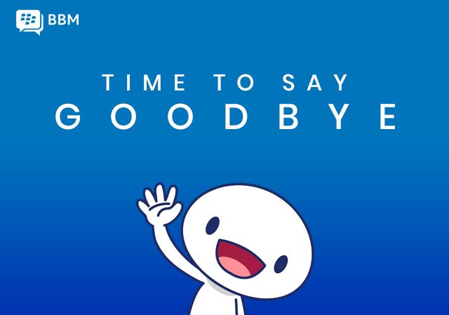 Blackberry Messenger cierra sus puertas