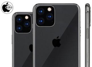 Concepto de diseño de iPhone 11 con tres cámaras