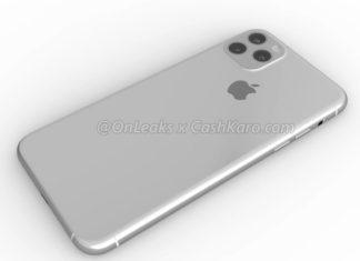Imagen generada por ordenador de lo que se espera que sea el iPhone XI